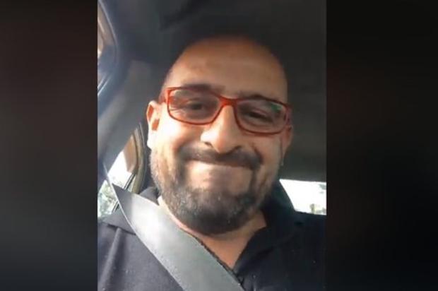 Despidieron a taxista que arremetió contra Uber