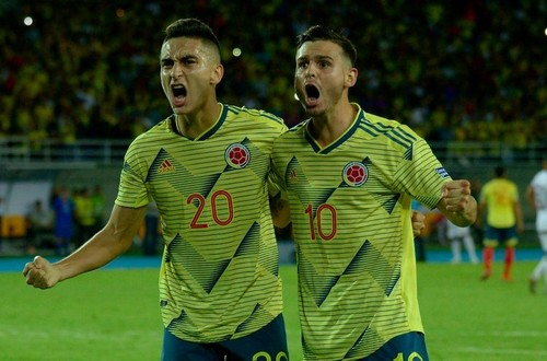 Selección Colombia Sub23 por la clasificación ante los chilenos