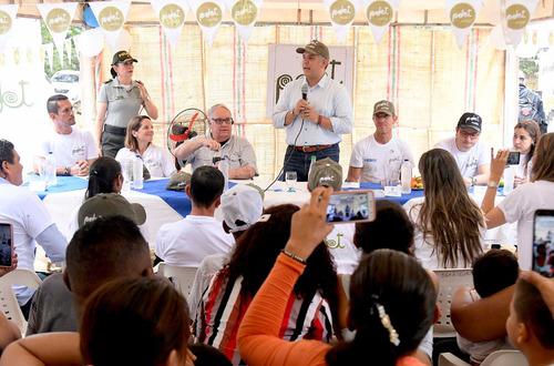 Presidente Duque lidera en Villavicencio Conversación Regional