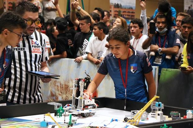 Villavicencio entre ganadores de final de robótica FIRST