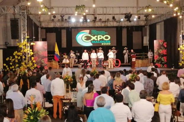 Presidente Duque estuvo en Expomalocas