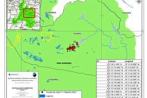 Nuevo incendio forestal en el parque natural Sumapaz