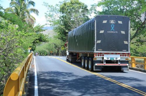 Vehículos de carga tendrán libre tránsito en vías concesionadas
