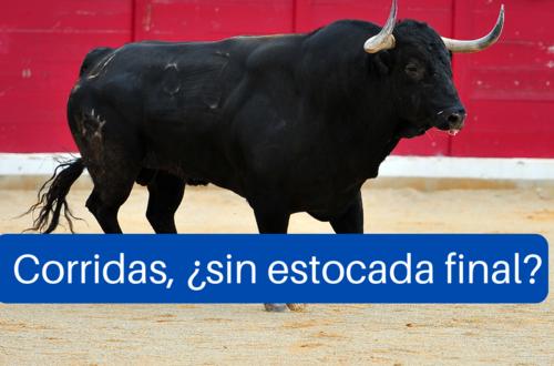 Corridas sí, muerte de toros, no