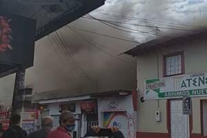 Qué pudo haber generado el incendio en el centro de Villavo