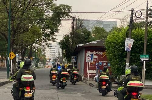 Se mantiene toque de queda en Villavicencio