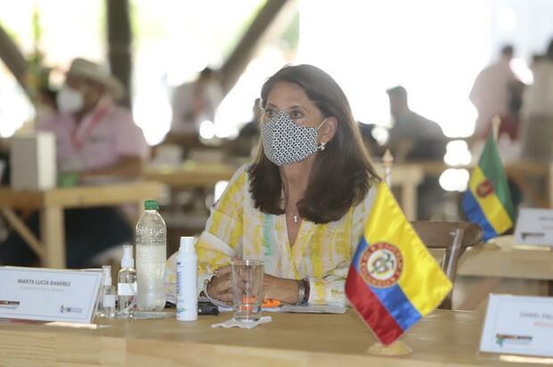 ¿Martha Lucía Ramírez dejará de ser vicepresidenta?