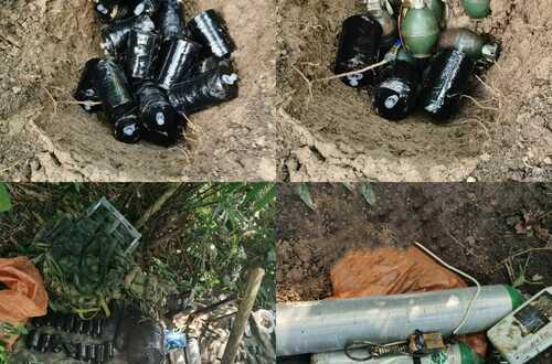 Hallan depósito ilegal con material explosivo en Mesetas