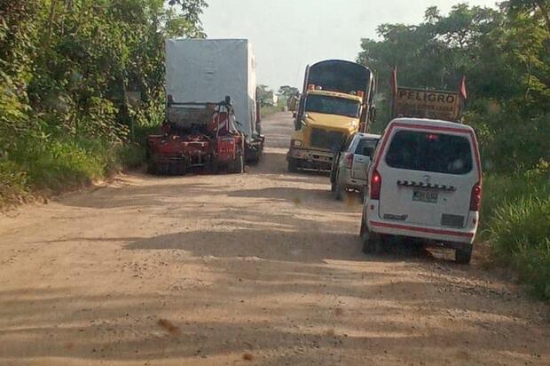 Medidas para mitigar daños en infraestructura vial del Meta
