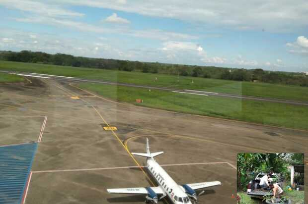 Aerocivil ayuda a recuperar la cuenca del río Guatiquía