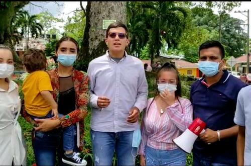 Estudiantes de Unillanos lideran campaña por la vida