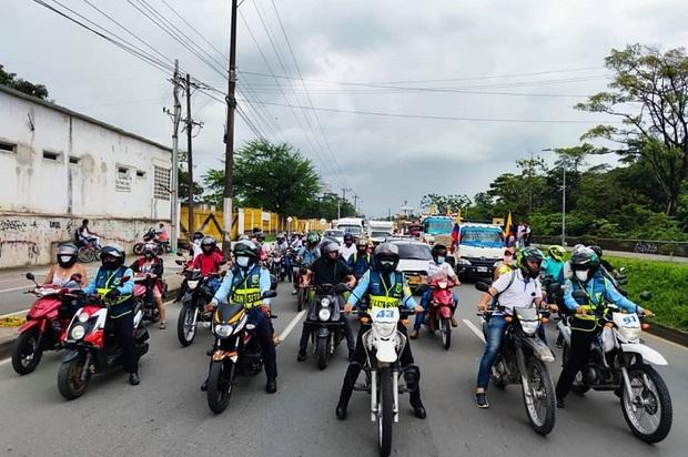 Se acaba la restricción nocturna para motos en Villavicencio