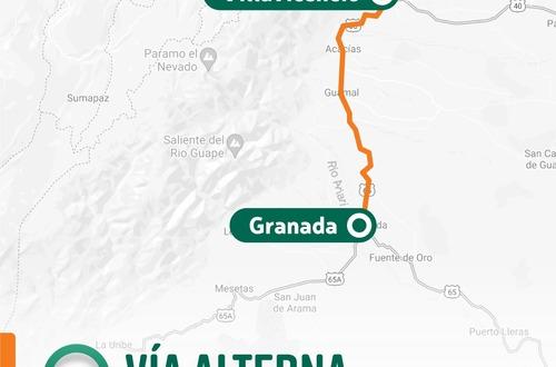 Invías cerró paso antiguo por el río Guayuriba