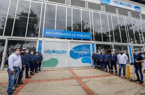 'Alborada' inició operación de alumbrado de Villavicencio
