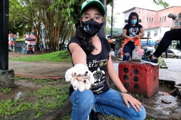 No más colillas de cigarrillo en Villavicencio