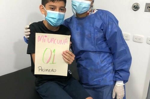 Inició vacunación Covid para niños con comorbilidades
