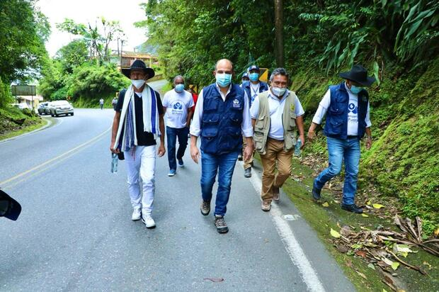 Campesinos de Meta y Guaviare retornan a sus territorios