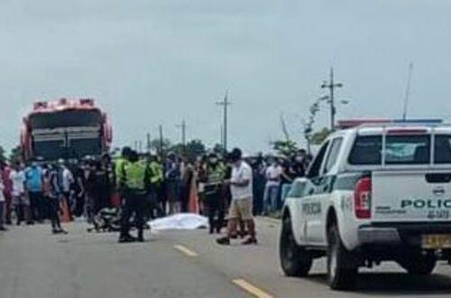 Fallece otra persona en accidente de tránsito
