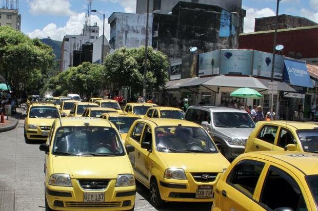 Pico y placa para taxis cambió en Villavicencio