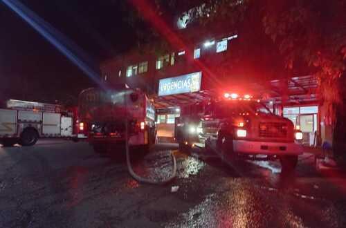 Incendio en Central de Urgencias de Hospital de Villavo