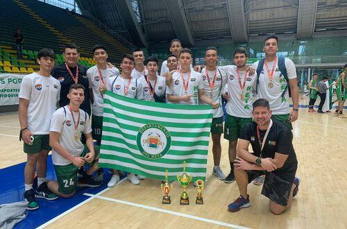Metase ubicó en el podio del nacional sub-17 de baloncesto