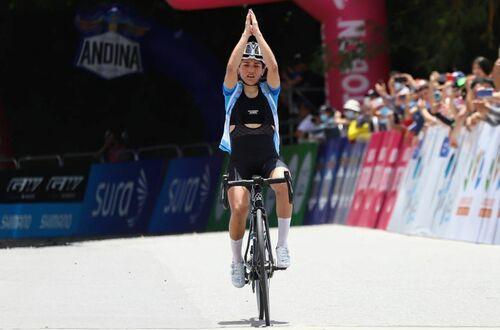 Así se vivió la cuarta  etapa de la Vuelta a Colombia