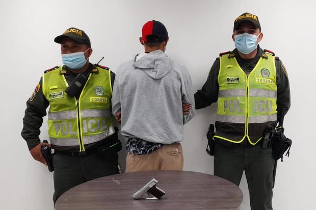 """Policía capturó a alias """"Maikol""""en Villavicencio"""