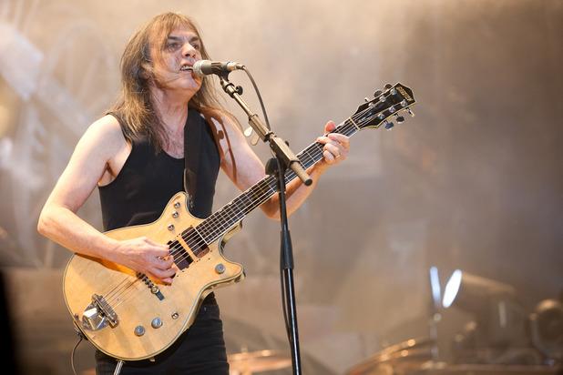 AC/DC anunció retirada del guitarrista  Malcom Young
