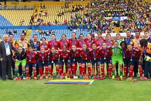 La metense Ángela Corina Clavijo clasifica con Colombia a Mundial, Olímpicos y Panamericano de Fútbol